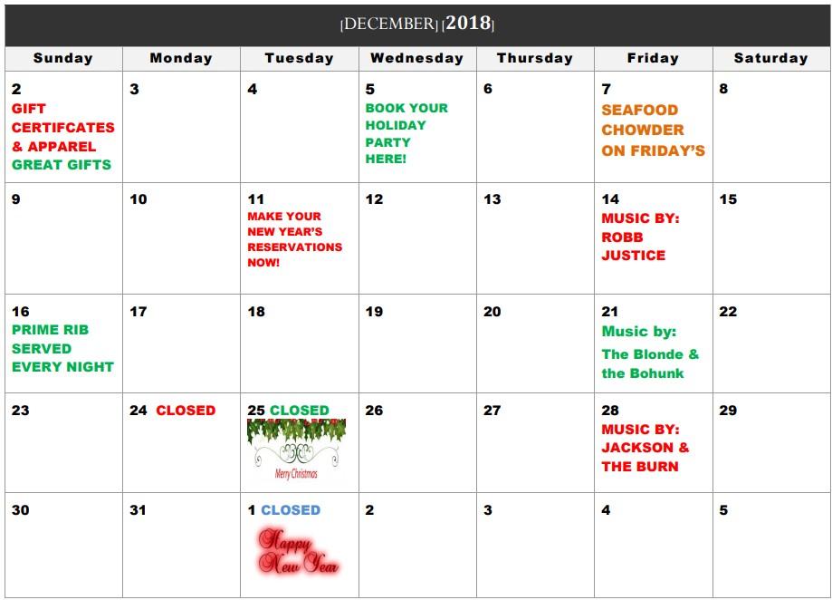 interlachen inn alexandria mn calendar
